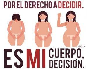 Derecho a decidir. No a los restrictivos requisitos para realizarse un aborto legal